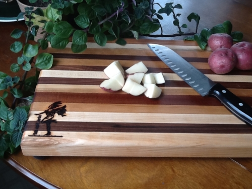 Tudo Azul Custom Wooden Cutting Boards, Butcher Blocks, and Serving Trays