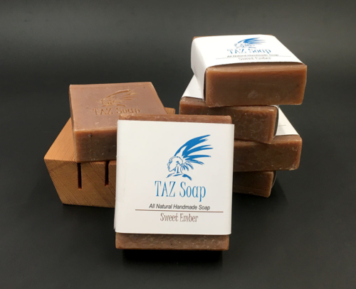 Sweet Ember Taz All Natural Handmade Soap