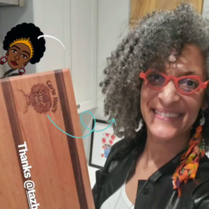 Carla Hall's Cutting Board Review of TAZ Boards