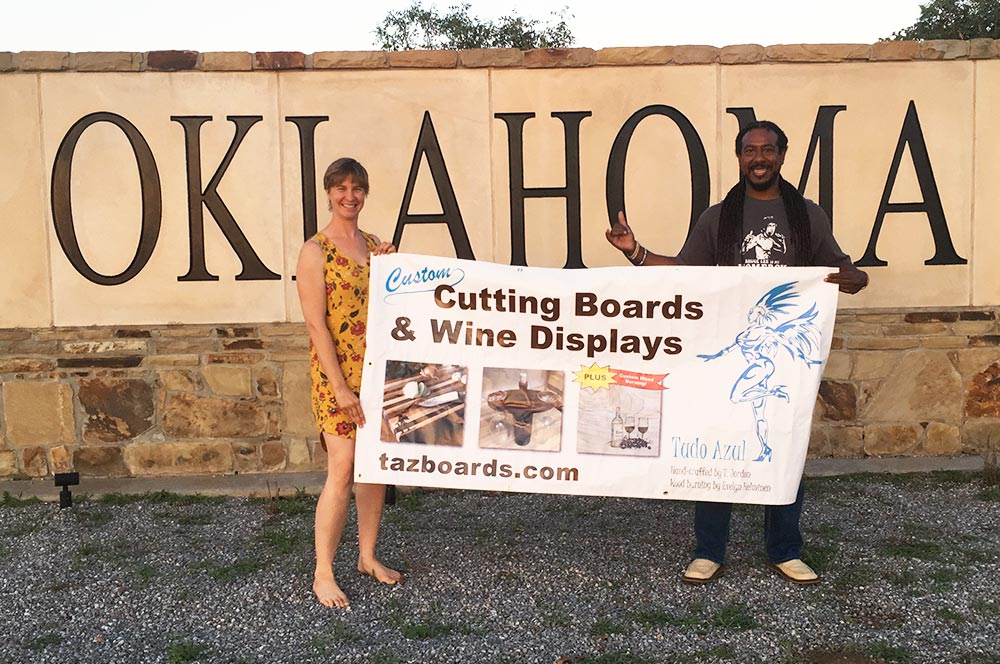 TAZ Boards traveled through Oklahoma
