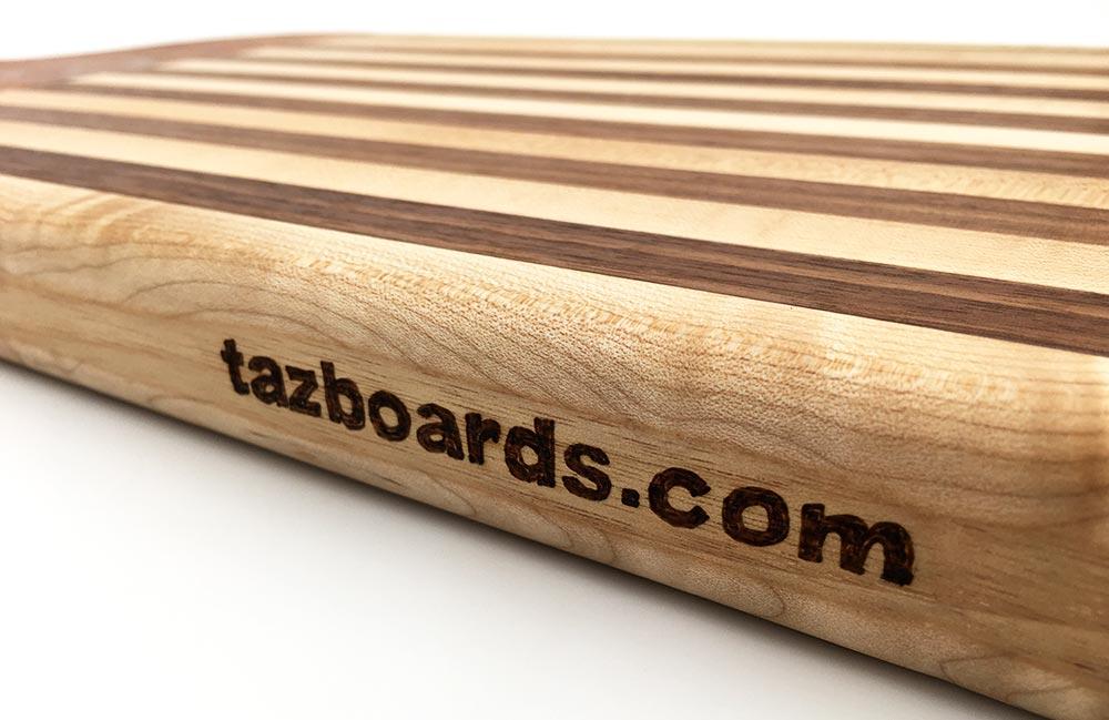 Tudo Azul Custom Cutting Boards at tazboards.com