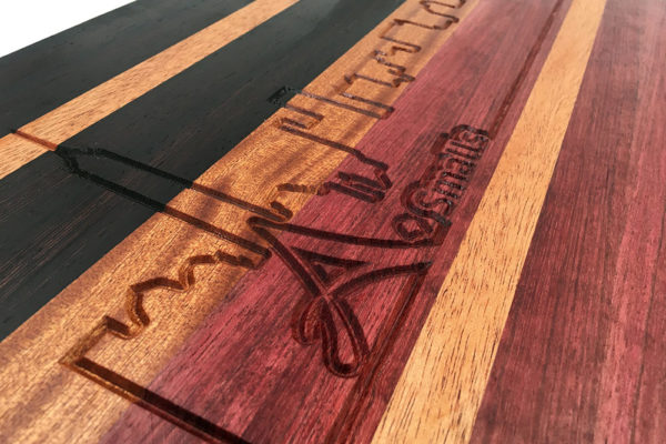 Alexander Smalls Engraving on Custom Cutting Board by Tazboards