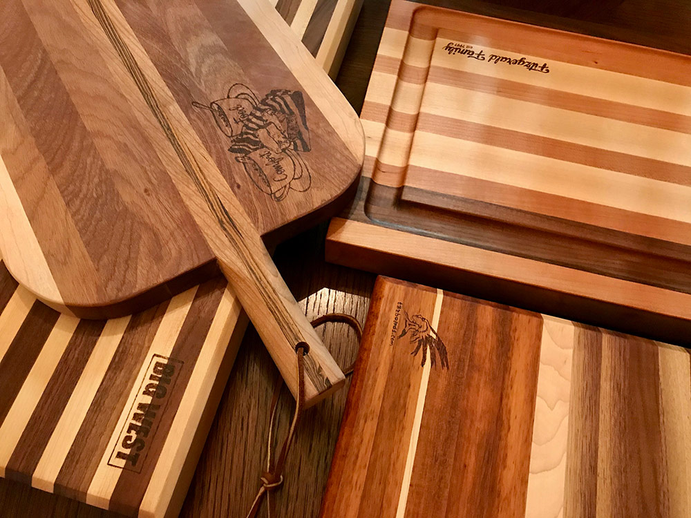 Custom Cutting Boards by Tazboards