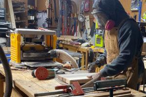 Tudo Azul custom cutting boards and butcher blocks