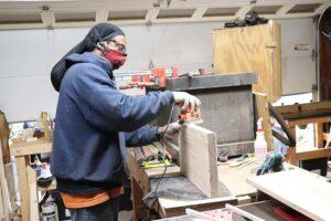 Dreaded Woodworker Tazboards in the Woodshop