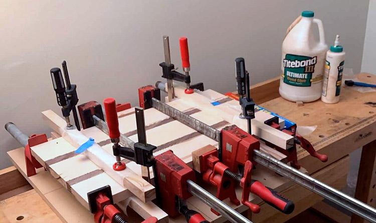 Woodshop Glue-up Tazboards
