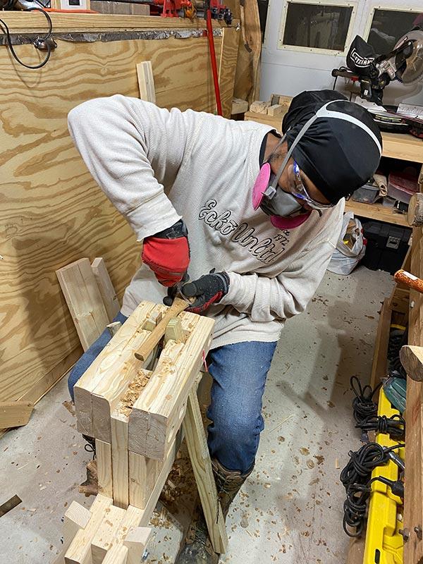 Tazboards Spoon Mule Wood Carving